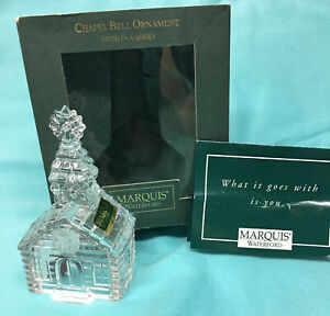 Marquis by WATERFORD -- CHAPEL -- BELL ORNAMENT  5TH in series
