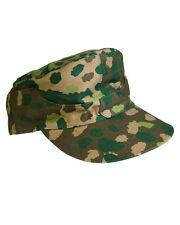Wh Campo M44 erbsentarn drillich TALLA 61 Gorra de camuflaje PEA DOT Ejército