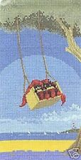 Little Black Cat A Pair Of Swingers Counted Cross Stitch Kit 28ct Heritage