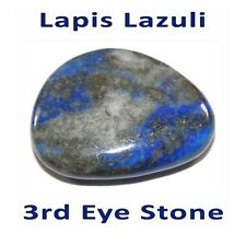 HOT STONE MASSAGE: Lapis Lazuli 3rd Eye Stone 3.5-4cm