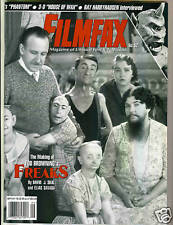 WoW! FILMFAX #52 Freaks! Texas Chainsaw! Phantom! House Of Wax! Rare!