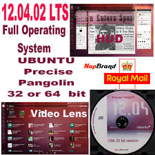 Ubuntu 12.04.02 LTS CD Linux Operating System no license required