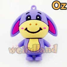 Eeyore USB Stick, 8GB Quality Winnie the Pooh Donkey USB Flash Drives WeirdLand