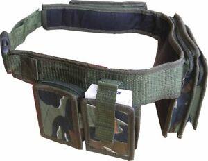 Army Combat Militray Utility Bum Bag Day Waist Belt Pack Cargo DPM Retro Camo