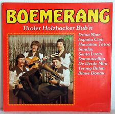 """12"""" Vinyl BOEMERANG - Tiroler Holzhacker Bub´n"""