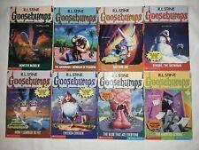 Goosebumps lot of 8 books- R.L. Stine (29,38,41,51,52,53,55,59)
