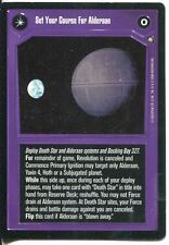 Star Wars CCG Third Anthology  Set Your Course For Alderaan / The ?