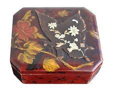 boite à bijoux ancienne laque Japon vers fin XIXème