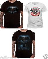 Official T Shirt Superman Vs Batman Dawn Of Justice / Showdown Gotham City NEW