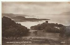 Scotland Postcard - Oban - Dunollie Castle & Firth of Lorn - Real Photograph 731