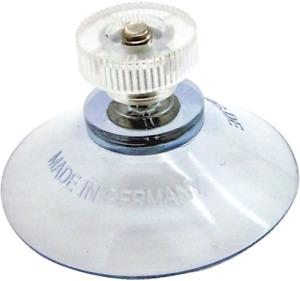 Ventouses Filetage Ecrous moletes D 40 mm Tete de Vis Transparente Vitre