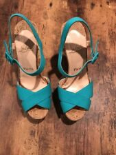 Christian Louboutin Wedge Heels Shoes Size 8 (41)