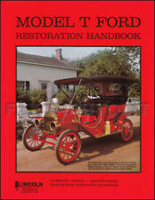 Model T Ford Restoration Book 150 Photos and Top Work