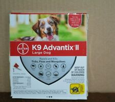 K9 ADVANTIX 2 FOR LARGE DOG ( 1 MONTH SUPPLY ) 21 - 55 LBS