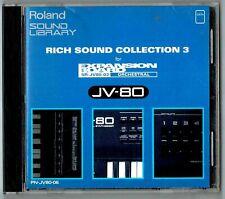 Roland PN-JV80-06 Rich Sound Collection 3 card for JV-1080, JV-2080, JD-990 etc