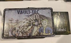 Fallout 4 Vault-Tec Metal Lunchbox Tin - VGC