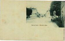 CPA Bar - sur - aube .-  Rue de la gare  (197112)