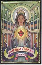Saint Louis Cathedral Vieux Carre New Orleans POSTCARD NOLA GIRL by NEIL07.com