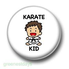 Karate Kid 1 Inch / 25mm Pin Button Badge Martial Arts Kick Boxing Kitsch Fun