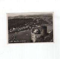 AK Ansichtskarte Burg Katz mit St. Goar - 1938