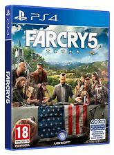 FARCRY 5   FAR CRY 5   VERSIONE UFFICIALE ITALIANA  COME NUOVO   PS4