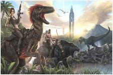 "Ark Survival Evolved Poster Wall Art Print  36"" x 24"""
