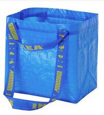 Ikea Brattby Tote Bag Shopping Laundry Small Blue Bags Frakta Qty 1 2 3 5 & 10
