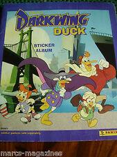 RARE PANINI DISNEY DARKWING DUCK STICKER ALBUM BOOK  COMPLETE ALL STICKERS IN