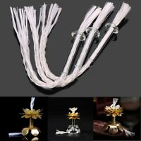 "3Pcs Oil Lamp Candle Burner Glass Wick Holder & Fiberglass Cotton Wick 4.7""inch"