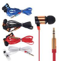 Stereo 3.5mm In Ear Headphone Earphone Headset Earbud for iPhone iPod  PC Cbeus
