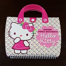 FASHION STENCIL SKETCHBOOK HELLO KITTY