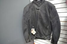 River Road Sedona Mesh Jacket Mens Small Black Motorcycle Street Gear