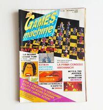 The Games machine Anno 1 numero 3 1988 rivista videogiochi