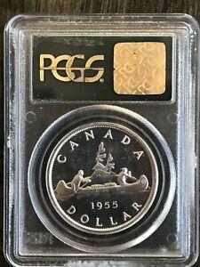 1955 S $1 Arnprior Canada Dollar  PCGS PL66