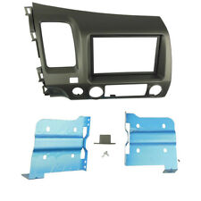 2 Din Radio Fascia for Honda Civic Sedan 2007-2011 Stereo Panel Dash Kit Frame