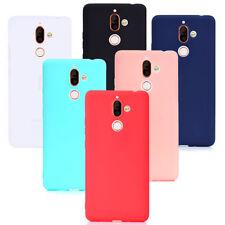 For Nokia 7Plus Ultra Slim Matte Rubber Silicone Case cover