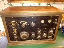 VINTAGE 1923-1924 FEDERAL TYPE 59 BATTERY RADIO RECEIVER