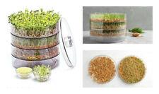 3 plateaux Seed Sprouter cuisine germoir pour Bean & Graines sain organique Spro...