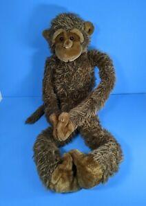 """38"""" Fiesta Long Legged Monkey Stuffed Plush Animal Large Hanging Joining Brown"""