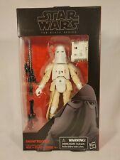 Hasbro Star Wars Black Series 6 Inch #35 Snowtrooper NIB Action Figure