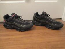 Used Worn Size 13 Nike Air Max 95 ID Shoes Black Anthracite Pink