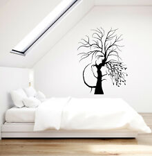 Vinyl Wall Decal Romantic Love Man and Woman Tree Branches Stickers (3766ig)