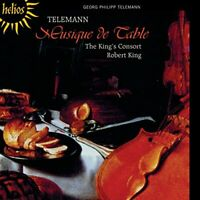G.P. Telemann - Musique De Table (The King's Consort) [CD]