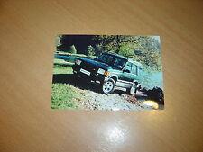 PHOTO DE PRESSE ( PRESS PHOTO ) Land Rover Discovery XS de 1995  R0042