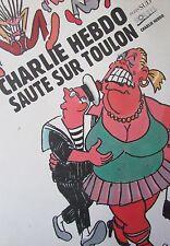 CHARLIE HEBDO HORS SERIE de 1995 CHARLIE HEBDO SAUTE SUR TOULON CABU TIGNOUS