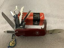 Very Vintage Wenger Swiss Army Knife, Monarch Model, MIB!!! 1960's?