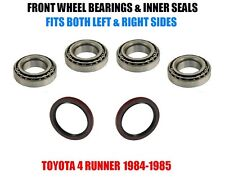 Toyota 4 Runner Front Wheel Bearings & Seals Set 1984-1985