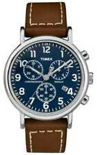 Timex Casual Weekender Chronograph Brown Mens TW2R42600