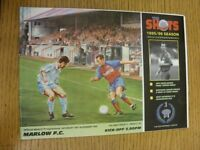 18/11/1995 Aldershot Town v Marlow  . Thanks for viewing our item, if this item