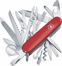 Swiss Army Original Knife, Swisschamp, Red, Victorinox 53501, New In Box